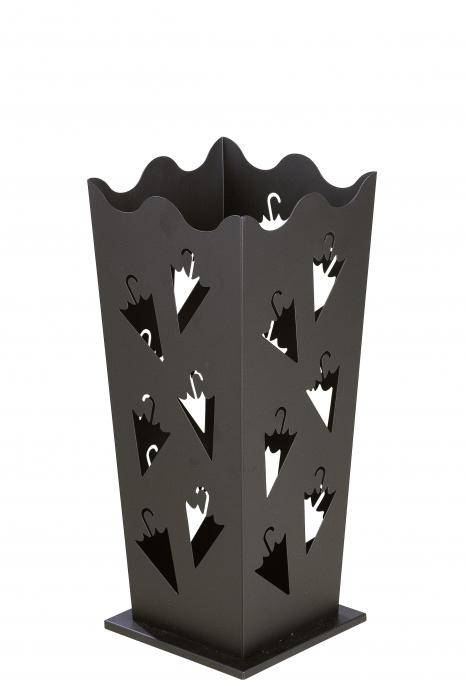 Suport pentru umbrela, metal, 21x21x50 cm 1
