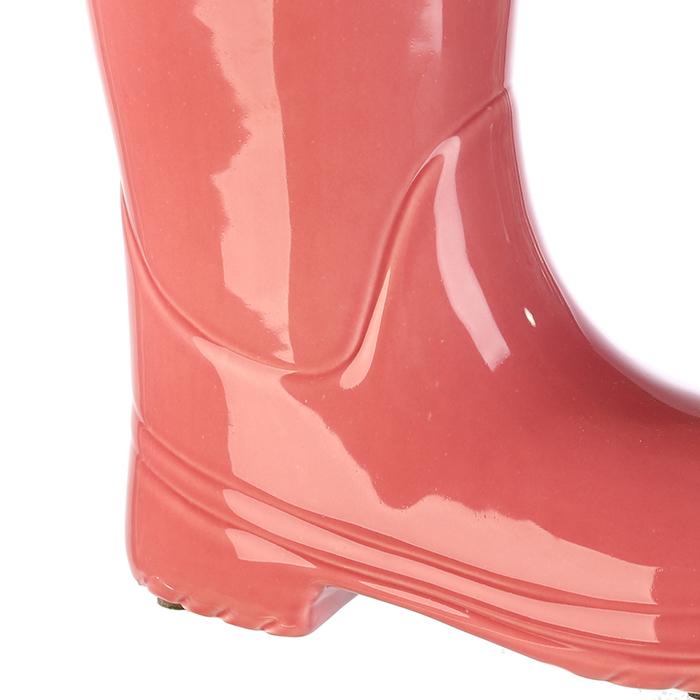 Suport umbrela BOOT, ceramica, roz, 45x26x11 cm 2