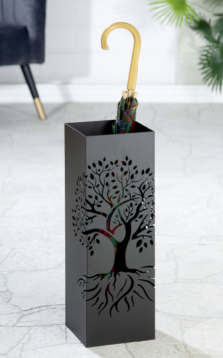 Suport umbrela TREE OF LIFE, metal, 18x55x18 cm 0