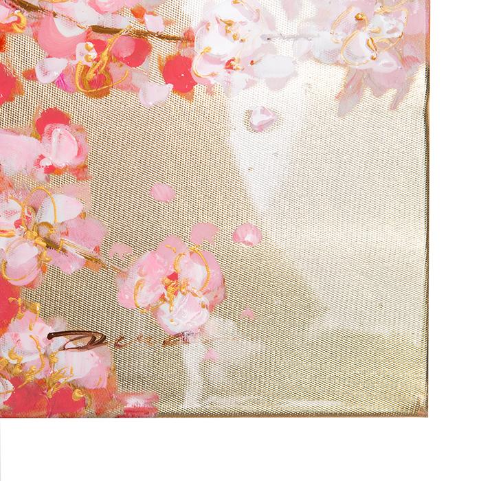 Tablou CHERRY TREE, panza, 140x70x3.5 cm 3