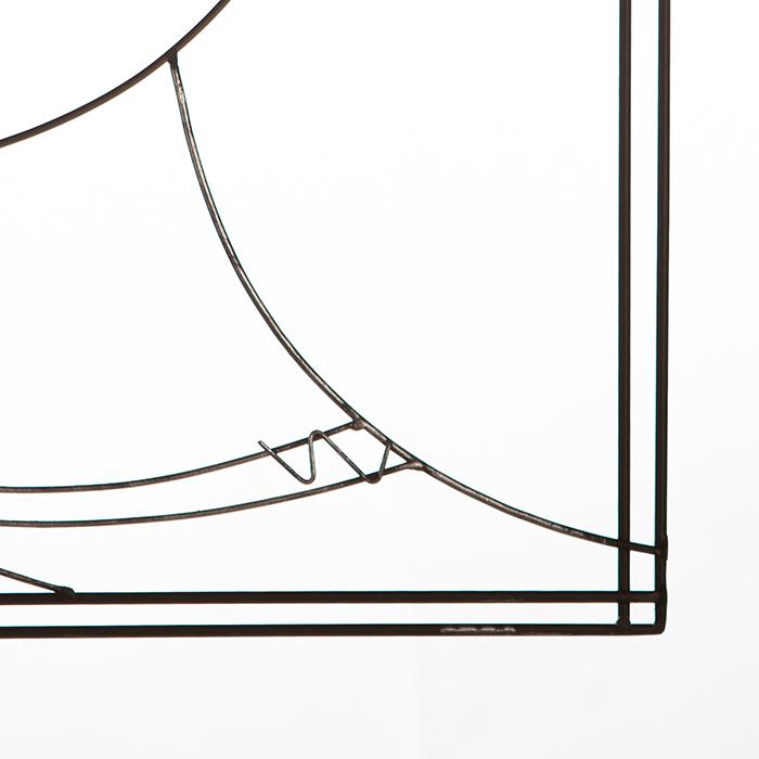 Tablou MONSIEUR, metal, 60X39 cm [4]
