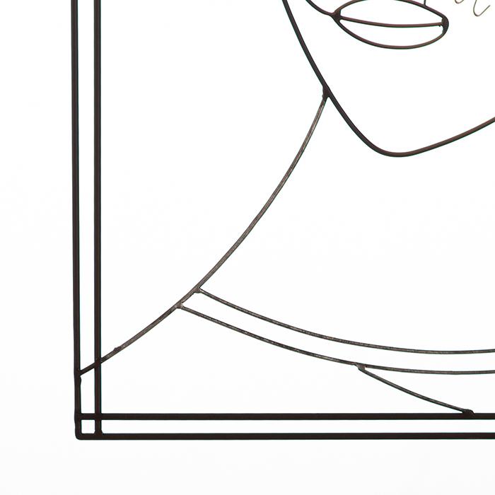 Tablou MONSIEUR, metal, 60X39 cm [2]