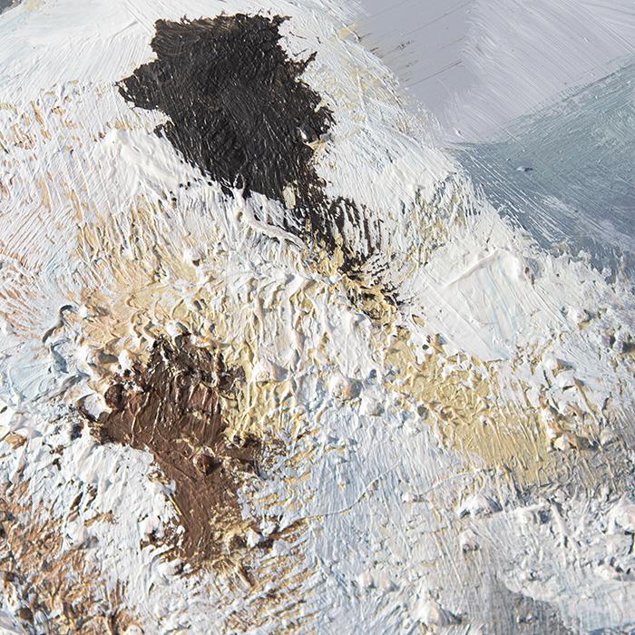 Tablou  MOUNTAIN, panza/aluminiu, 150x100x4 cm 1