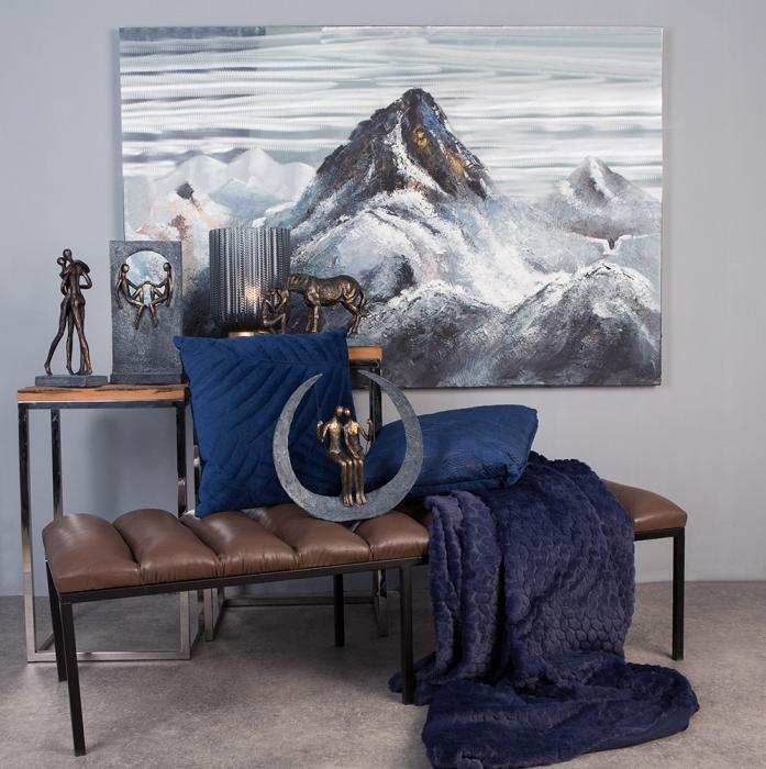 Tablou  MOUNTAIN, panza/aluminiu, 150x100x4 cm 5