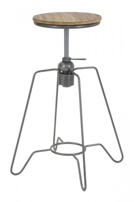 Taburet ajustabil pe inaltime HEINTRECK (cm) Ø 39X55-70 1