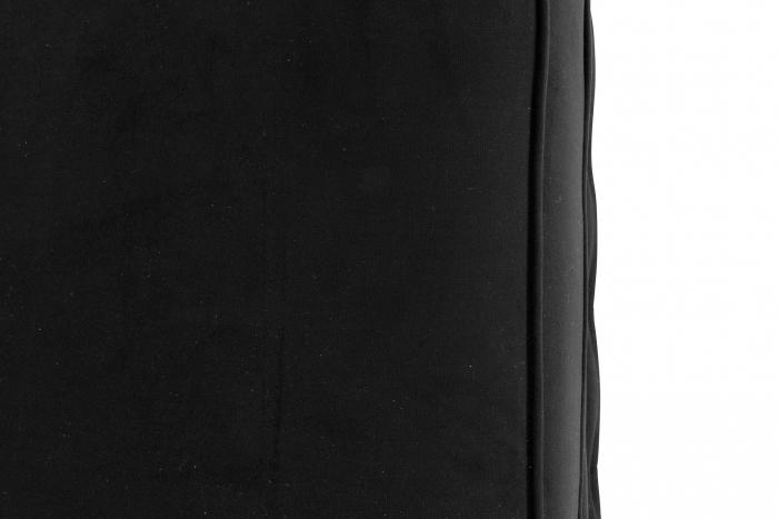 Taburet  Chesterfield, Negru, 75x45x70 cm 4