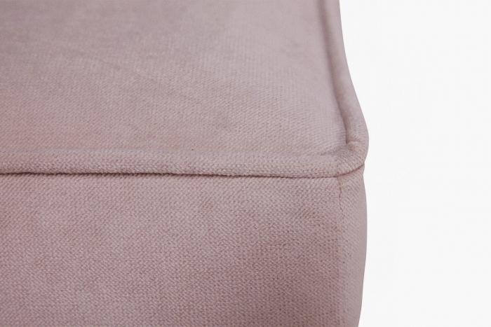 Taburet  Chesterfield, Roz, 75x45x70 cm 3