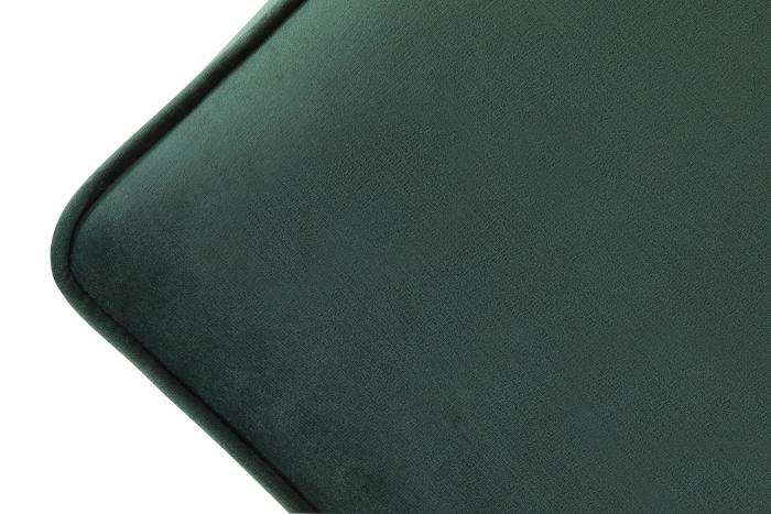 Taburet  Chesterfield, Verde inchis, 75x45x70 cm 3