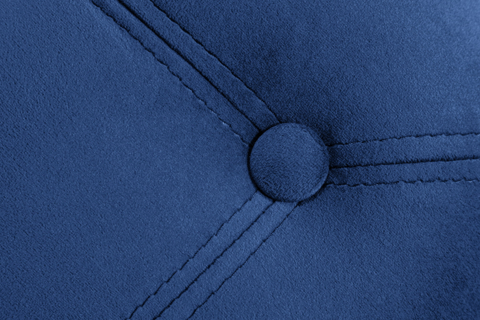 Taburet  Diana, Albastru, 50x44x44 cm 3