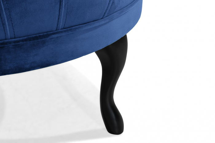 Taburet  Diana, Albastru, 80x44x80 cm 4