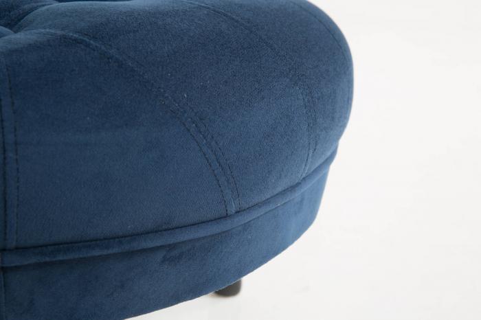 Taburet  Diana, Albastru petrol, 80x44x80 cm 3