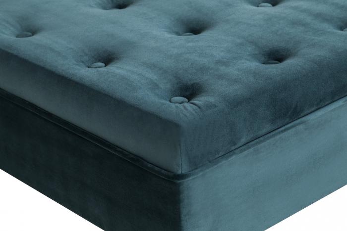 Taburet  Diana, Albastru verzui, 70x44x70 cm 2
