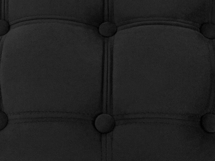 Taburet  Diana, Negru, 50x44x44 cm 5