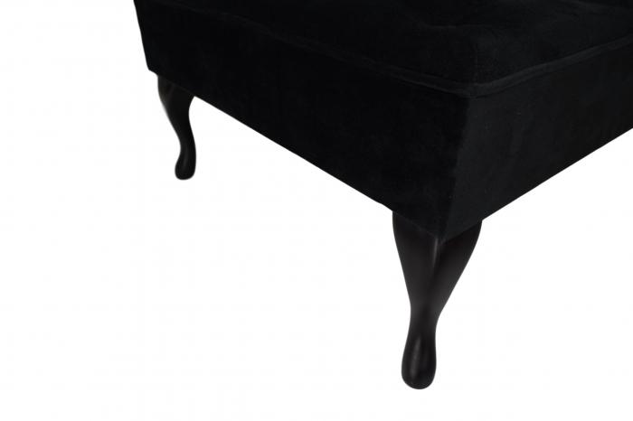 Taburet  Diana, Negru, 70x44x70 cm 5