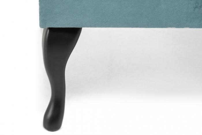 Taburet  Diana, Turcoaz, 70x44x70 cm 2
