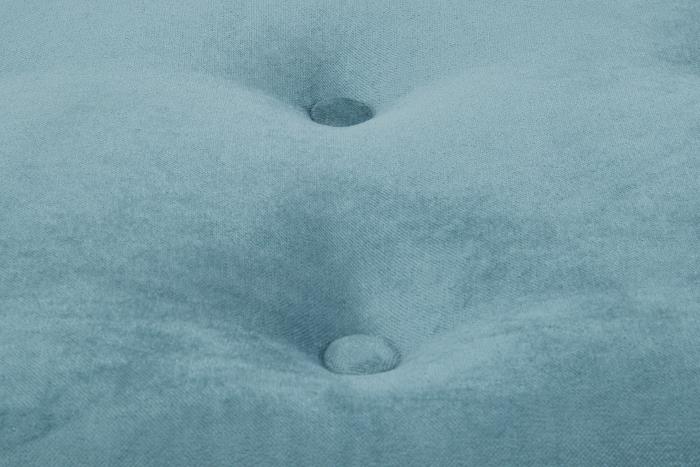 Taburet  Diana, Turcoaz, 70x44x70 cm 4