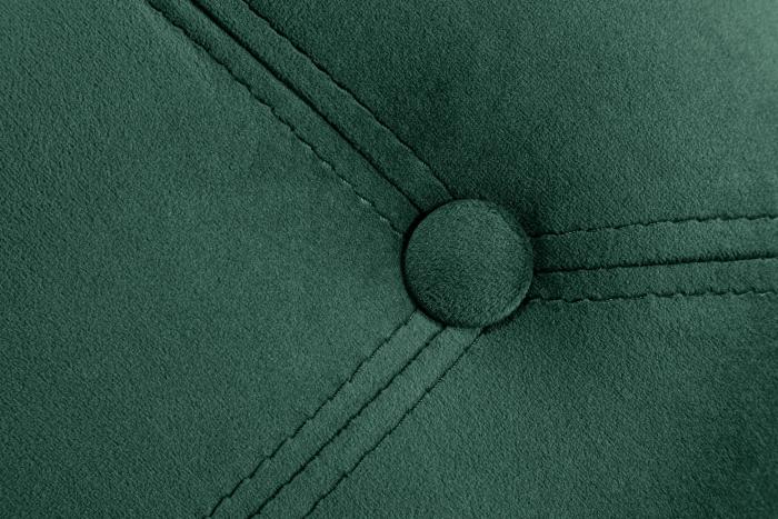 Taburet  Diana, Verde inchis, 50x44x44 cm 3