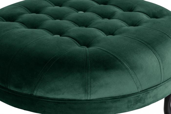 Taburet  Diana, Verde inchis, 80x44x80 cm 2