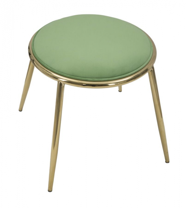 Taburet EMILY, verde, 45X45 cm, Mauro Ferretti 1