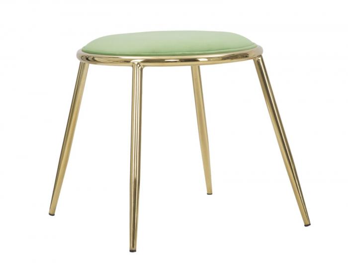 Taburet EMILY, verde, 45X45 cm, Mauro Ferretti 3
