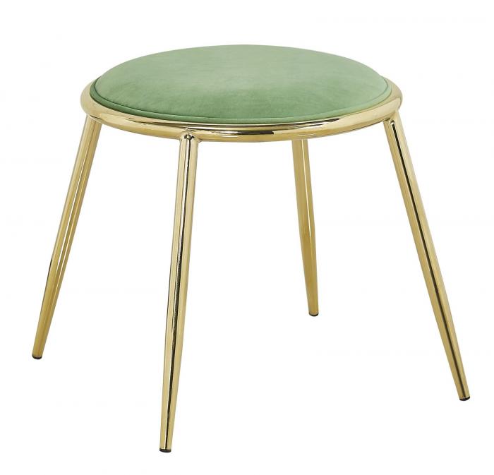 Taburet EMILY, verde, 45X45 cm, Mauro Ferretti 0