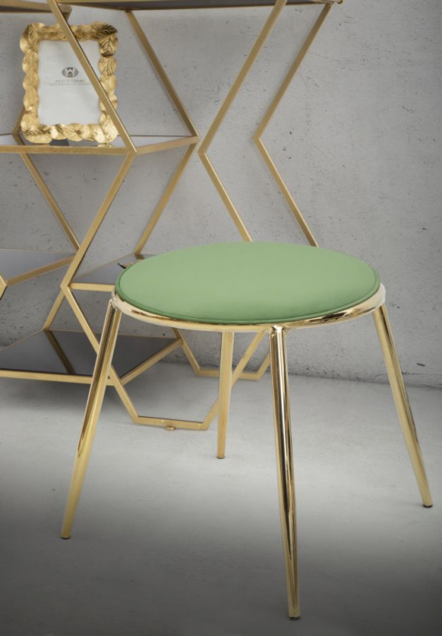 Taburet EMILY, verde, 45X45 cm, Mauro Ferretti 8