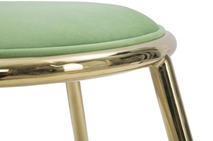 Taburet EMILY, verde, 45X45 cm, Mauro Ferretti 6