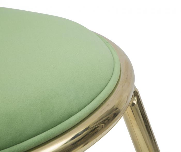 Taburet EMILY, verde, 45X45 cm, Mauro Ferretti 5