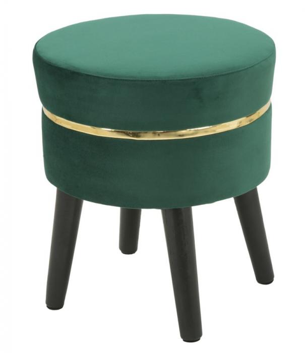 Taburet PARIS, verde, 35X40.5 cm, Mauro Ferretti 2