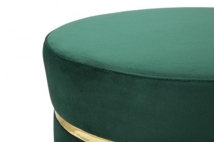 Taburet PARIS, verde, 35X40.5 cm, Mauro Ferretti 5