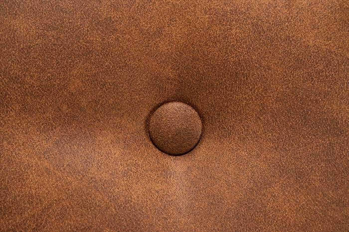 Taburet pentru picioare Clara, Maro coniac, 60x40x50 cm 4