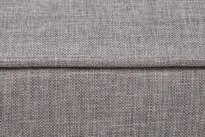 Taburet pentru picioare Veneta, Gri, 55x40x45 cm 3