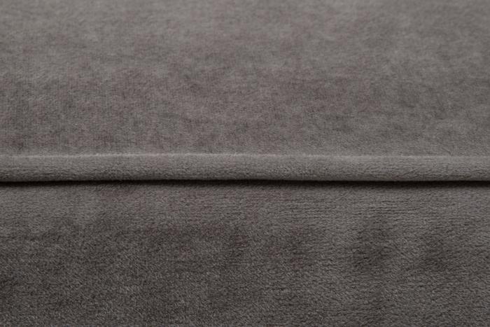 Taburet pentru picioare Veneta, Gri argintiu, 55x40x45 cm 2