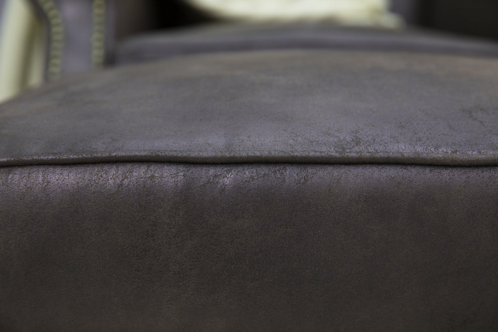 Taburet pentru picioare Veneta, Maro, 55x40x45 cm 3