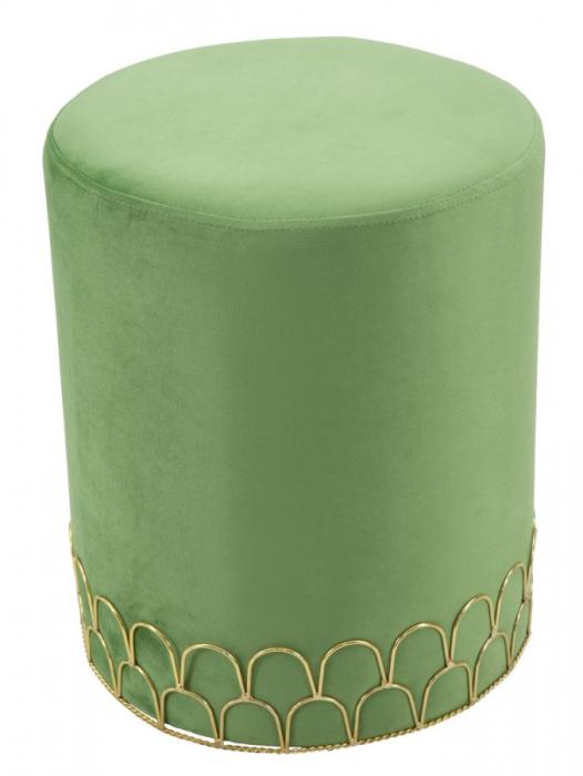 Taburet RING GREEN (cm) Ø 35X42 1