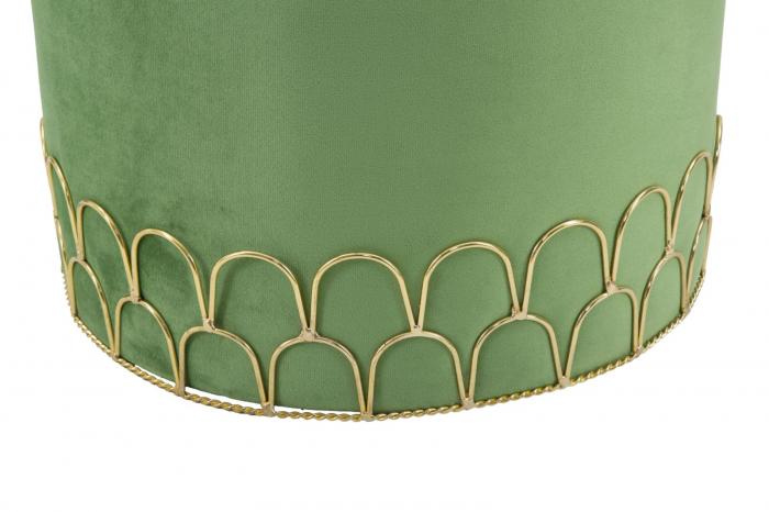 Taburet RING GREEN (cm) Ø 35X42 4