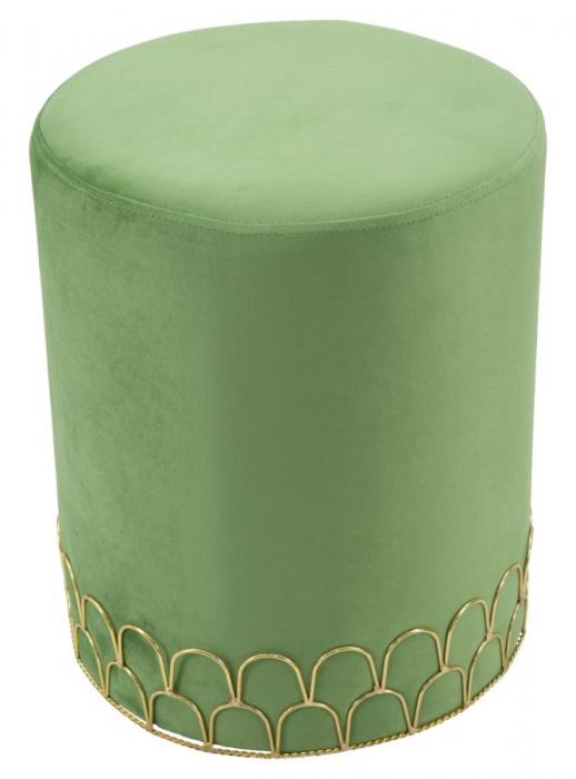 Taburet RING GREEN (cm) Ø 35X42 0