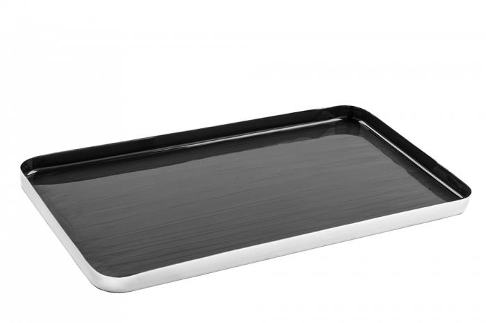 Tava DIPA, aluminiu/email/otel, 1.5x18x33 cm 0
