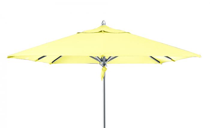 Umbrela de soare, Acril, Galben, 350 cm lotusland.ro