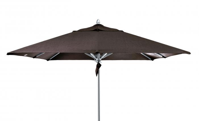 Umbrela de soare Carlo, Acril, Antracit, 350 cm 2021 lotusland.ro