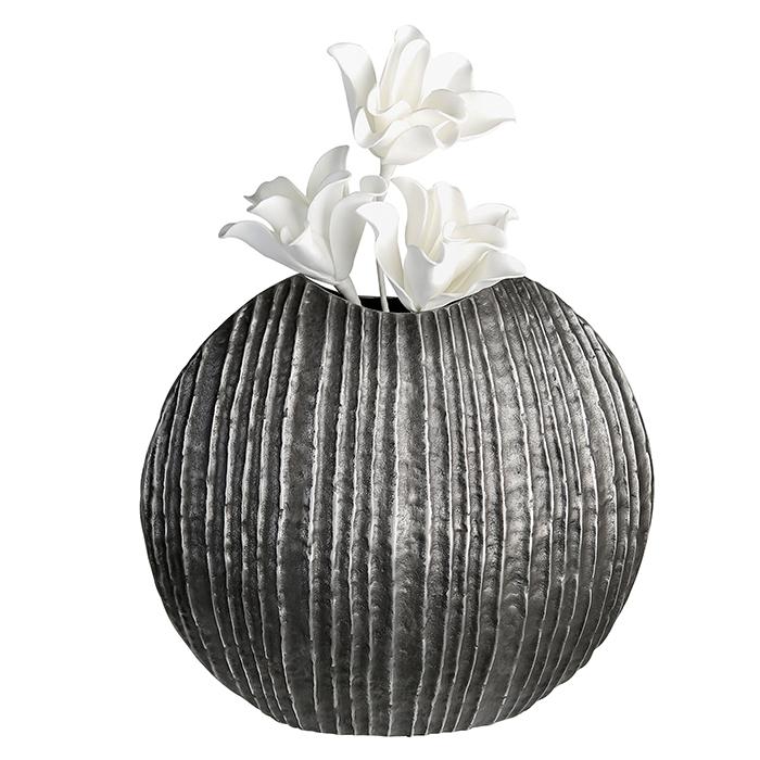 Vaza VULCANO, aluminiu, 26x24x24 cm 0