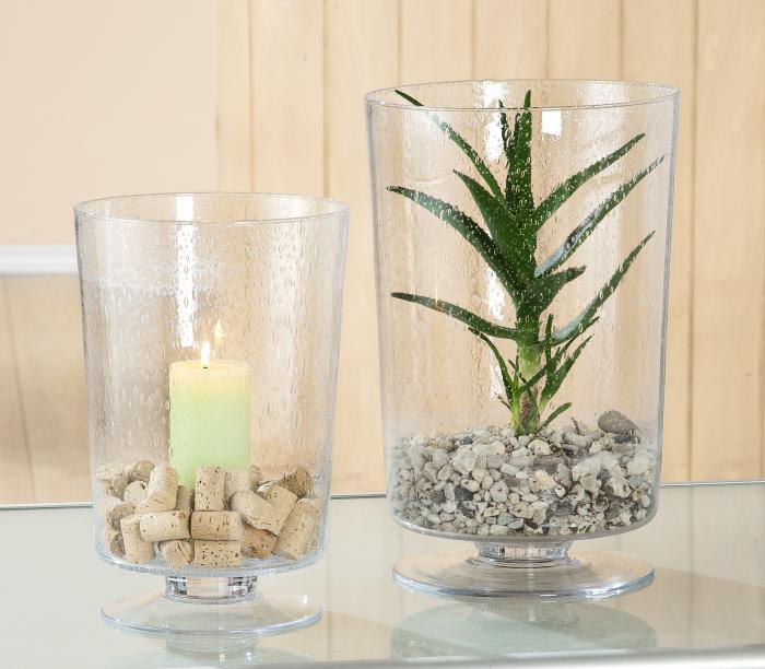 Vaza Bolla, sticla transparenta, 35x23,5 cm imagine 2021 lotusland.ro