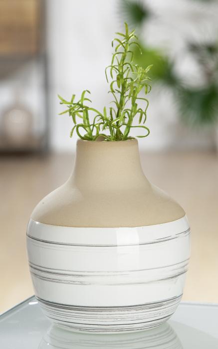 Vaza Bologna, ceramica, multicolor, 13x11 cm lotusland.ro