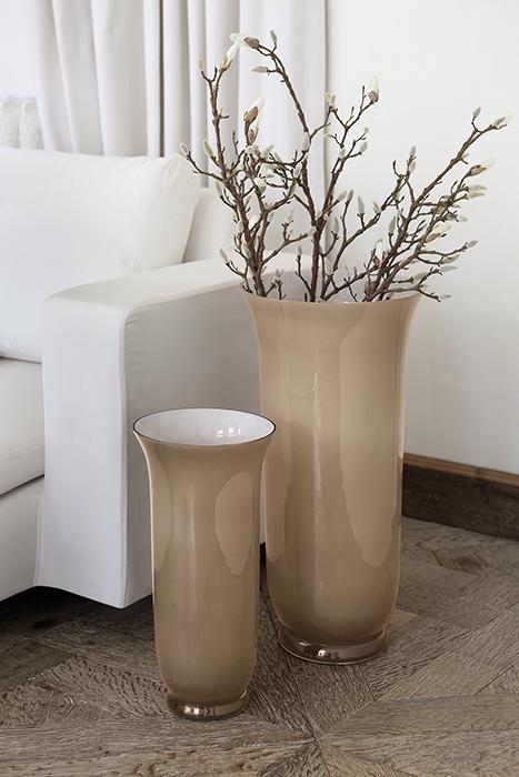 Vaza CALIC, sticla, 68x32.5 cm 1