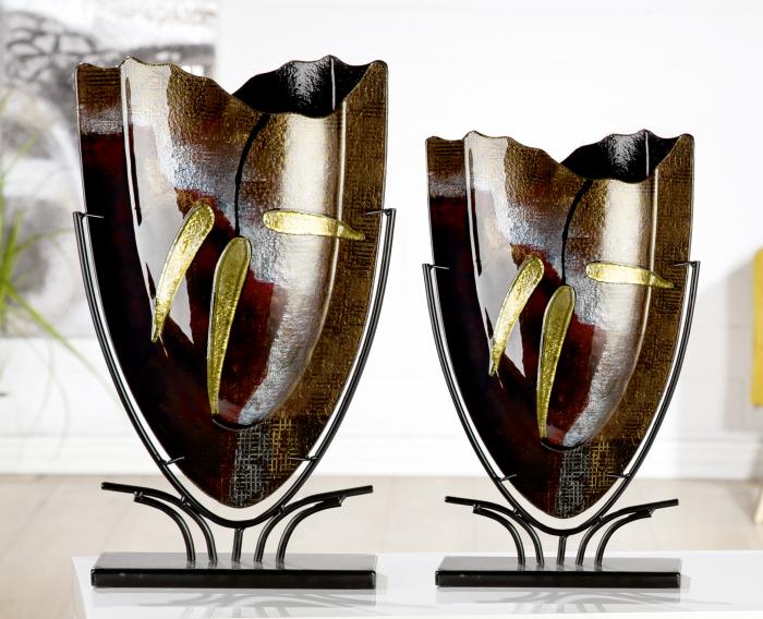 Vaza CANNETO, sticla, 29x10.5x47.5 cm 1