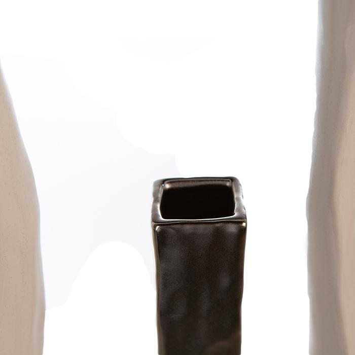 Vaza KADOMA, ceramica, 27.5x14x5.5 cm 1