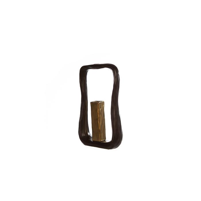 Vaza KADOMA, ceramica, 31x6.5x17 cm 0