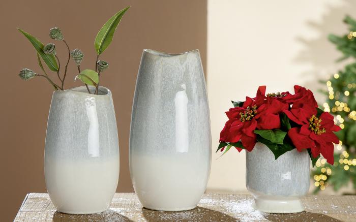 Vaza OSLO, ceramica, 29x13.5x13.5 cm 1