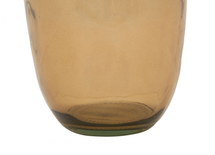 Vaza FAT, galben, 13X31 cm, Mauro Ferretti 5
