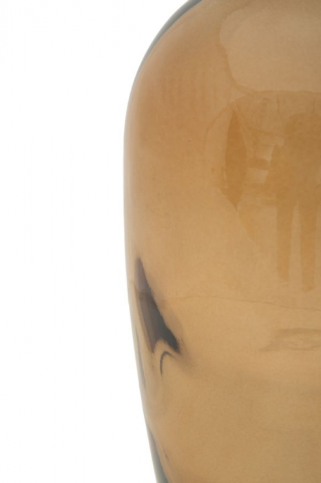 Vaza FAT, galben, 13X31 cm, Mauro Ferretti 4